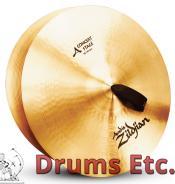 """18"""" A Zildjian Band & Orchestral Series Concert Stage Cymbals A0454"""