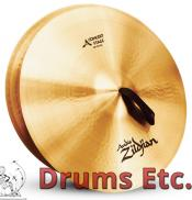 """20"""" A Zildjian Band & Orchestral Series Concert Stage Cymbals A0466"""