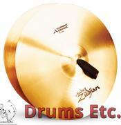 "20"" A Zildjian Band & Orchestral Series Symphonic German Tone Cymbals A0492"
