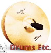 """16"""" A Zildjian Band & Orchestral Series Classic Orchestral Selection Medium Heavy Cymbals A0753"""