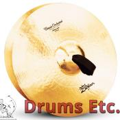 """18"""" A Zildjian Band & Orchestral Series Classic Orchestral Selection Medium Light Cymbals A0759"""