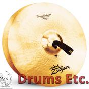 "20"" A Zildjian Band & Orchestral Series Classic Orchestral Selection Medium Heavy Cymbals A0769"