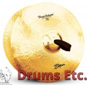 """17"""" A Zildjian Band & Orchestral Series Classic Orchestral Selection Medium Cymbals A0781"""