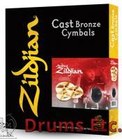 A Zildjian Series 4 Pack Matched Cymbal Box Set A0912