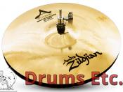 "13"" Zildjian A Custom Series Mastersound Hi-Hat Cymbals"