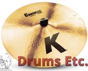 "18"" K Zildjian Series Crash Ride Cymbal K0808"