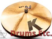 "14"" K Zildjian Series Special K/Z Hi-Hat Cymbals K0839"