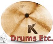 "20"" Zildjian K Custom Series Flat Top Ride Cymbal K0882"