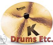 "16"" K Zildjian Series Dark Crash Medium Thin Cymbal K0913"