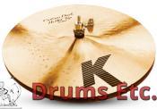 "14"" Zildjian K Custom Series Dark Hi-Hat Cymbals"