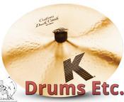 """15"""" Zildjian K Custom Series Dark Crash Cymbal K0950"""