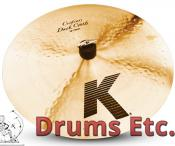 "16"" Zildjian K Custom Series Dark Crash Cymbal K0951"