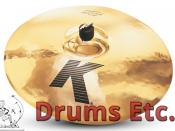 "18"" Zildjian K Custom Series Fast Crash Cymbal K0984"