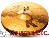 "14"" Zildjian K Custom Series Session Hi-Hat Cymbals"