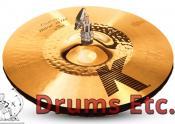 "13.25"" Zildjian K Custom Series Hybrid Hi-Hat Cymbals"
