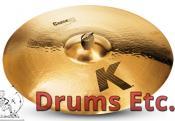 "21"" K Zildjian Series Crash Ride Cymbal K20835"