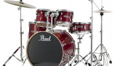 Pearl EXL725SP/CA#246 Export EXL Drum Set with Hardware