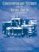 CONTEMPORARY STUDIES FOR SNARE DRUM (Book)