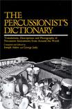 THE PERCUSSIONIST'S DICTIONARY (Book)