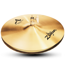 "14"" A Zildjian Series Mastersound Hi-Hat Cymbals"
