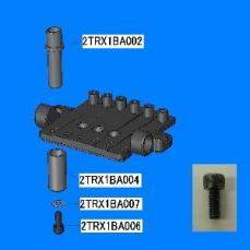 Ibanez Socket Fix Bolt for ZR/ZR7 (2TRX1BA006)