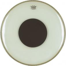 Remo Controlled Sound Clear Top Black Dot Bass Drum Heads