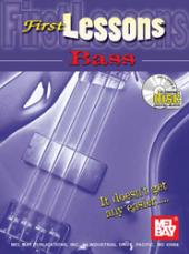 FIRST LESSONS BASS (BOOK,CD)