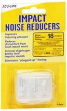 Acu-Life Impact Noise Reducers 18 Decibels (Pair) #400710