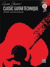 Aaron Sheaver Classic Guitar Technique Vol. 1 W/ CD