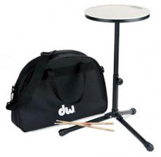 "Drum Workshop 12"" Practice Pad w/ Sticks & Bag DWCPPADSTDBG"