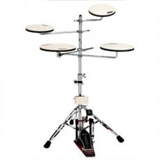 Drum Workshop Go Anywhere 5 Pc. Practice Pad Kit DWCPPADTS5