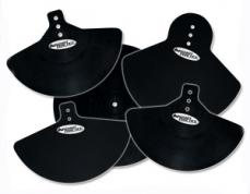 Drum Workshop Complete 5 Pc. Cymbal Pad Set DWSMPADCS5