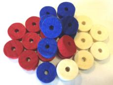 Drums Etc. Colored Cymbal Felts