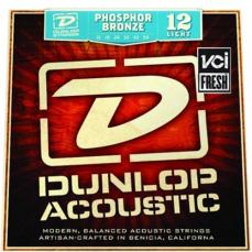 Dunlop DAP1254 Light, 12-54, Acoustic Guitar Strings 3 Sets