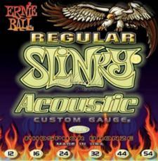 Ernie Ball Regular Slinky Acoustic Guitar Strings EB2146