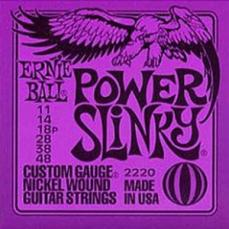 Ernie Ball Power Slinky Electric Guitar Strings EB2220