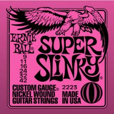 Ernie Ball Super Slinky Electric Guitar Strings EB2223