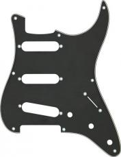 Fender Stratocaster Pickguard: 8 Hole ('57) black 099-1358-000