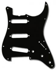 Fender Stratocaster Pickguard: 11 Hole ('57) Black 099-1345-000