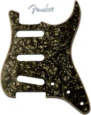 Fender Stratocaster Pickguard: 11 Hole (Modern) Black Pearl 099-2141-000