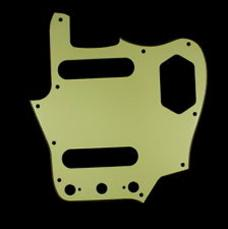 Fender Jaguar Pickguard: Mint Green 005-4489-000