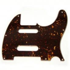 Fender Telecaster Pickguard: Assorted Nashville Tortoise Shell 004-8637-000