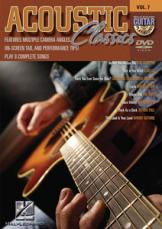 ACOUSTIC CLASSICS - Guitar Play-Along DVD Volume 7 (DVD)