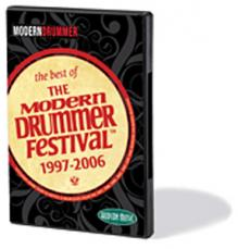 THE BEST OF THE MODERN DRUMMER FESTIVAL - 1997-2006 (DVD)