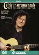 CELTIC INSTRUMENTALS FOR FINGERSTYLE GUITAR VOL. 1 (DVD)