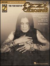 THE VERY BEST OF OZZY OSBOURNE (Book)