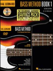 HAL LEONARD BASS METHOD BEGINNER'S PACK (BOOK,CD,DVD)