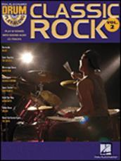 Classic Rock Drum Play-Along Volume 2 (Book)
