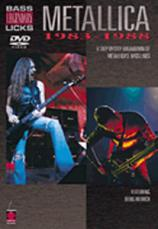 METALLICA - BASS LEGENDARY LICKS 1983-1988 (DVD)