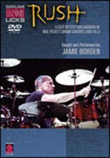 RUSH - LEGENDARY LICKS FOR DRUMS (DVD)
